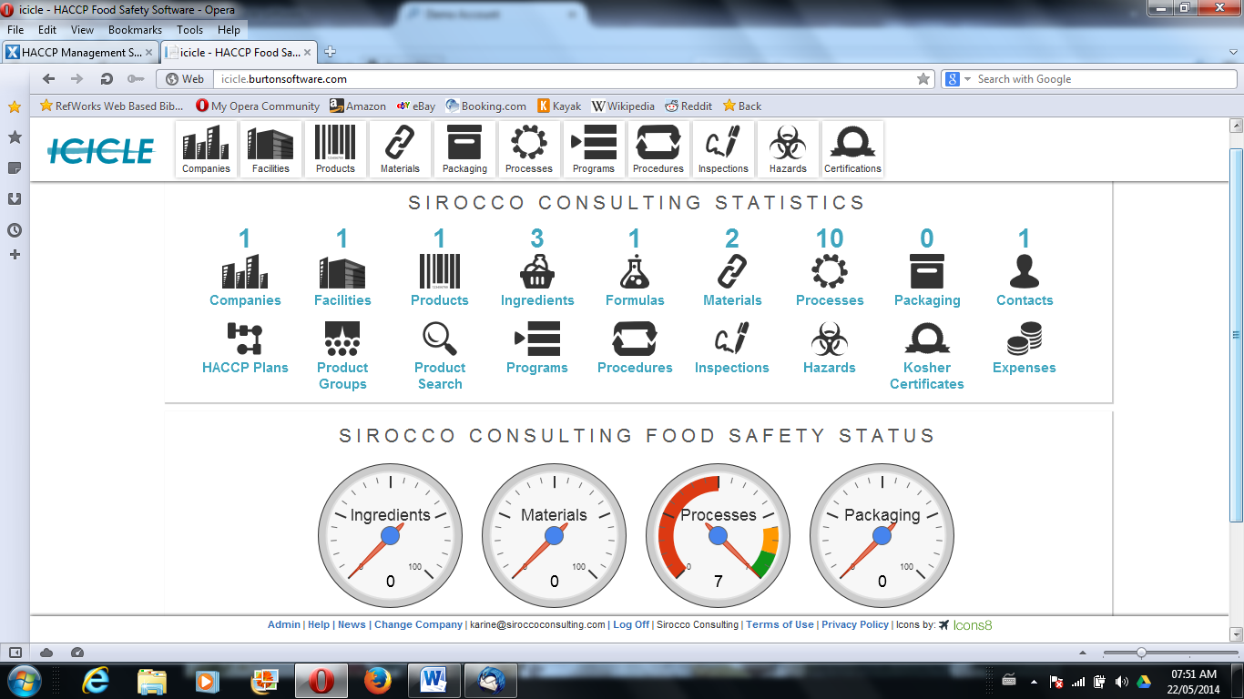 paperless haccp plans the value of food safety software sirocco consulting. Black Bedroom Furniture Sets. Home Design Ideas