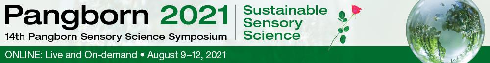 Pangborn symposium 2021 - August 9-12 2021